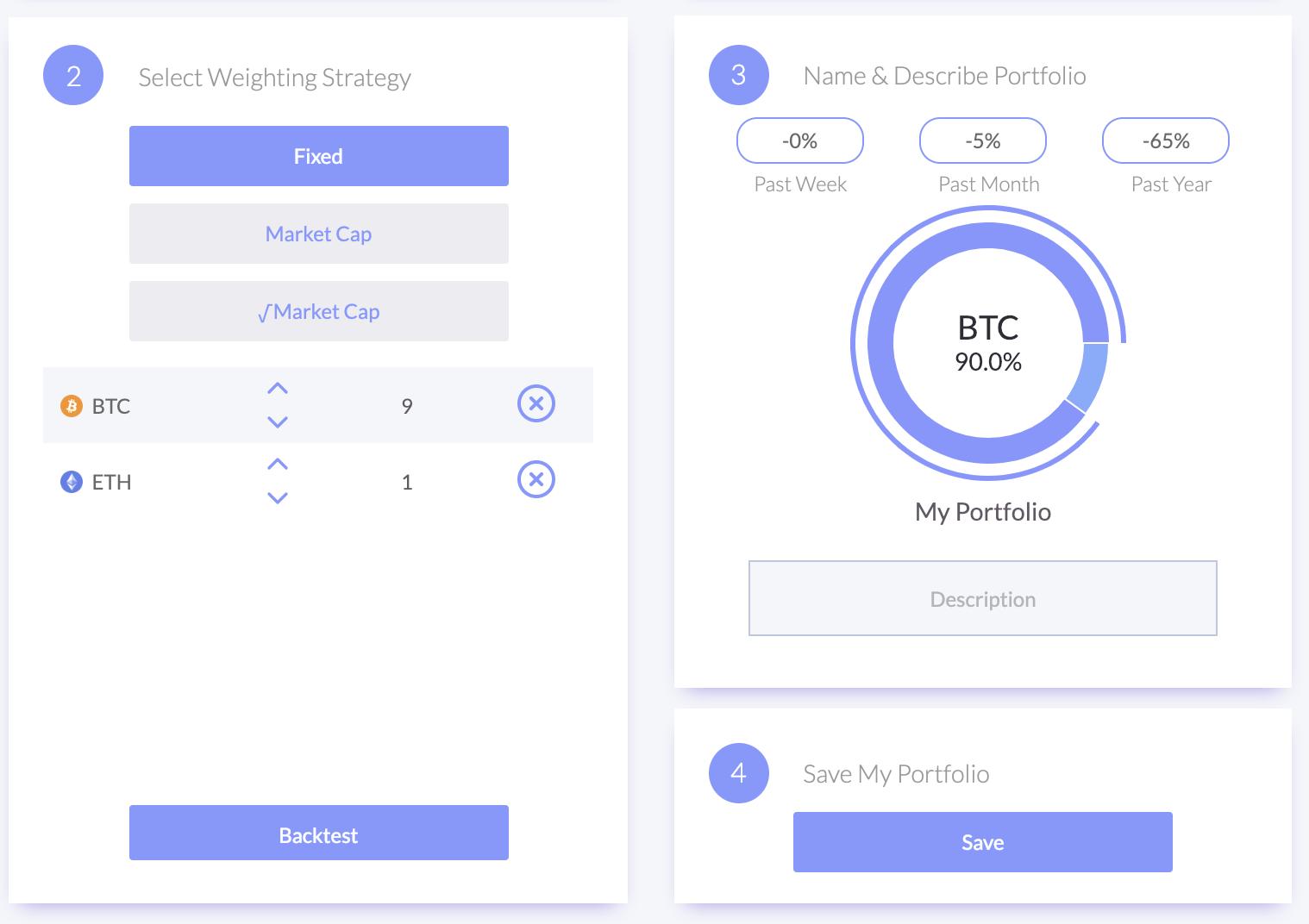how to start a cryptocurrency portfolio